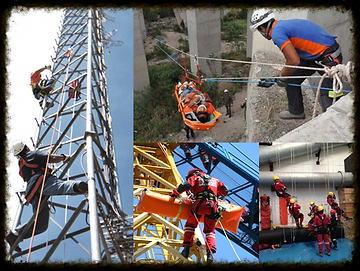 OBJECTIVES : To provide students with the skills needed to perform safely and technical rope rescue efficiency in urban and industrial environments and ensure the contest of international certifications .