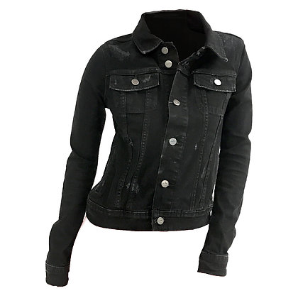 TWJ00418 ELIZABETH JACKET BLACK SHEEP