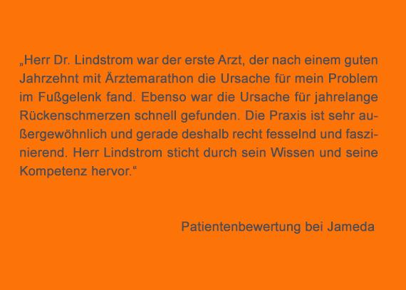 Dr. Lindstrom Radiologie Bewertung