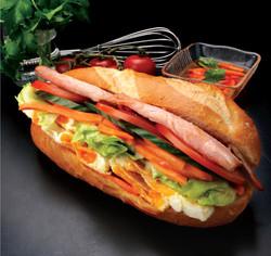 Bacon & Egg Salad Roll
