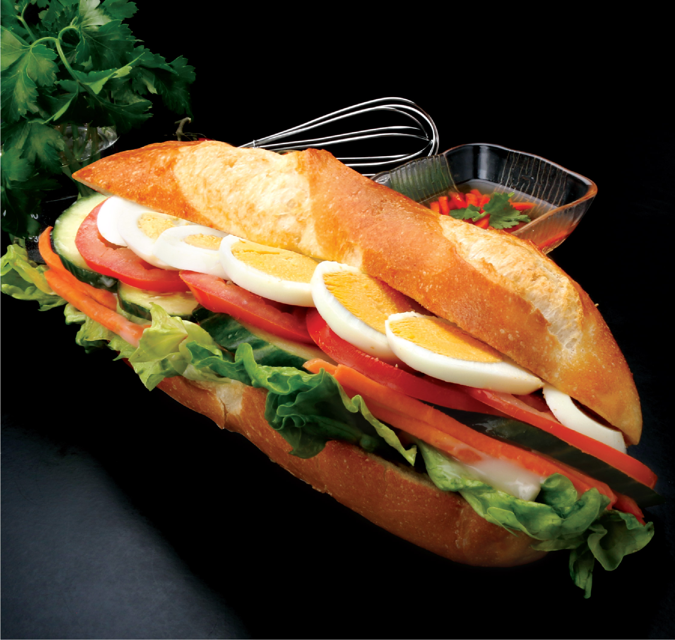 Egg Salad Roll