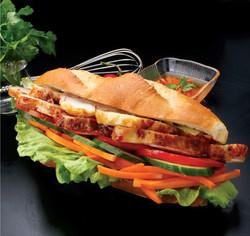BBQ Chicken Salad Roll