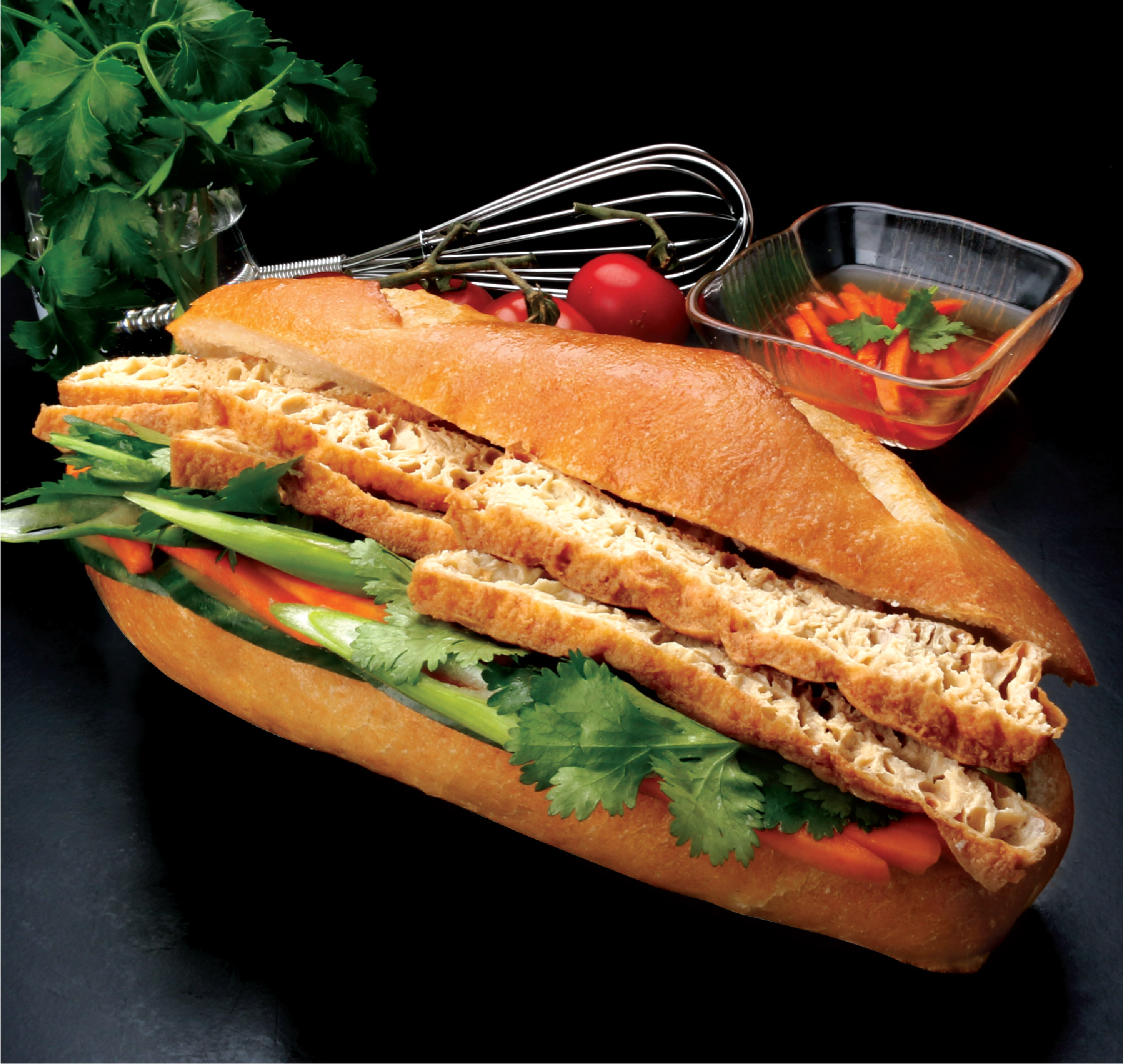 Beancurd Salad Roll