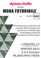 SAVE THE DATE!                                 MODA FUTURIBILE @ LINEAPELLE / INNOVATION SQUARE