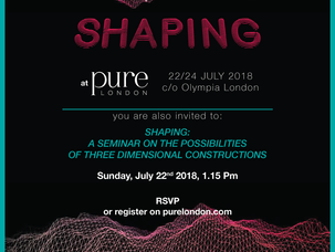 """Shaping"" a PureLondon"