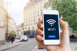 Connection to public WiFi hotspot in the