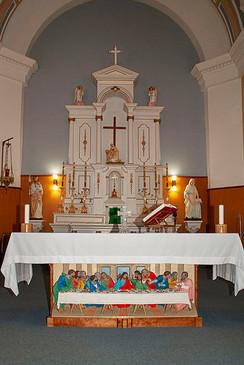 Autel de l'église Sainte Bernadette