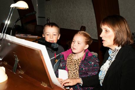 Children Singing in the Choir
