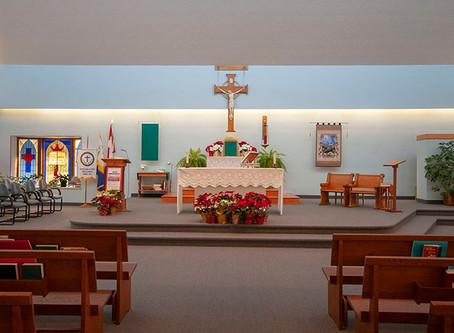 Nos paroisses ABC sont prêt à vous accueillir! / Our ABC parishes are ready to welcome you back!