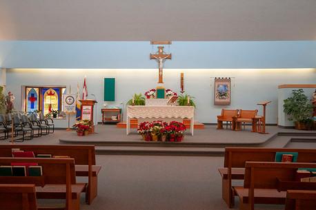 Church Altar, Sacred Heart