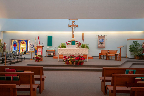 Autel de l'église Sacré-Cœur