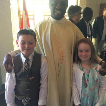 Celebrating First Communion