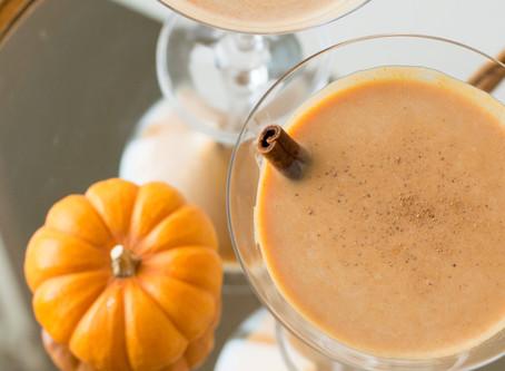 Pumpkin (Spiked) Martini