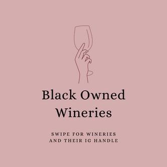 Black Owned Wineries