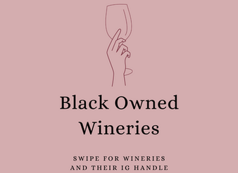 Black Owned Wineries