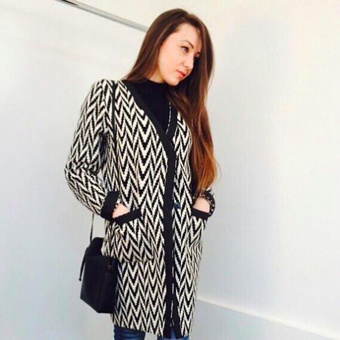 Легкое пальто из натуральной итальянской ткани, в единственном экземпляре. Экслюзив.