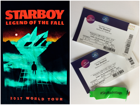 THE WEEKND • LEGEND OF THE FALL WORLD TOUR 2017 featuring Bryson Tiller & Drake