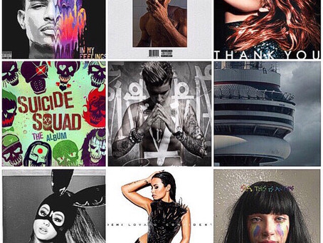 FAVE MUSIC OF 2016
