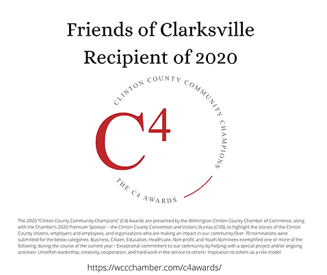 """The 2020 """"Clinton County Community Champ"""