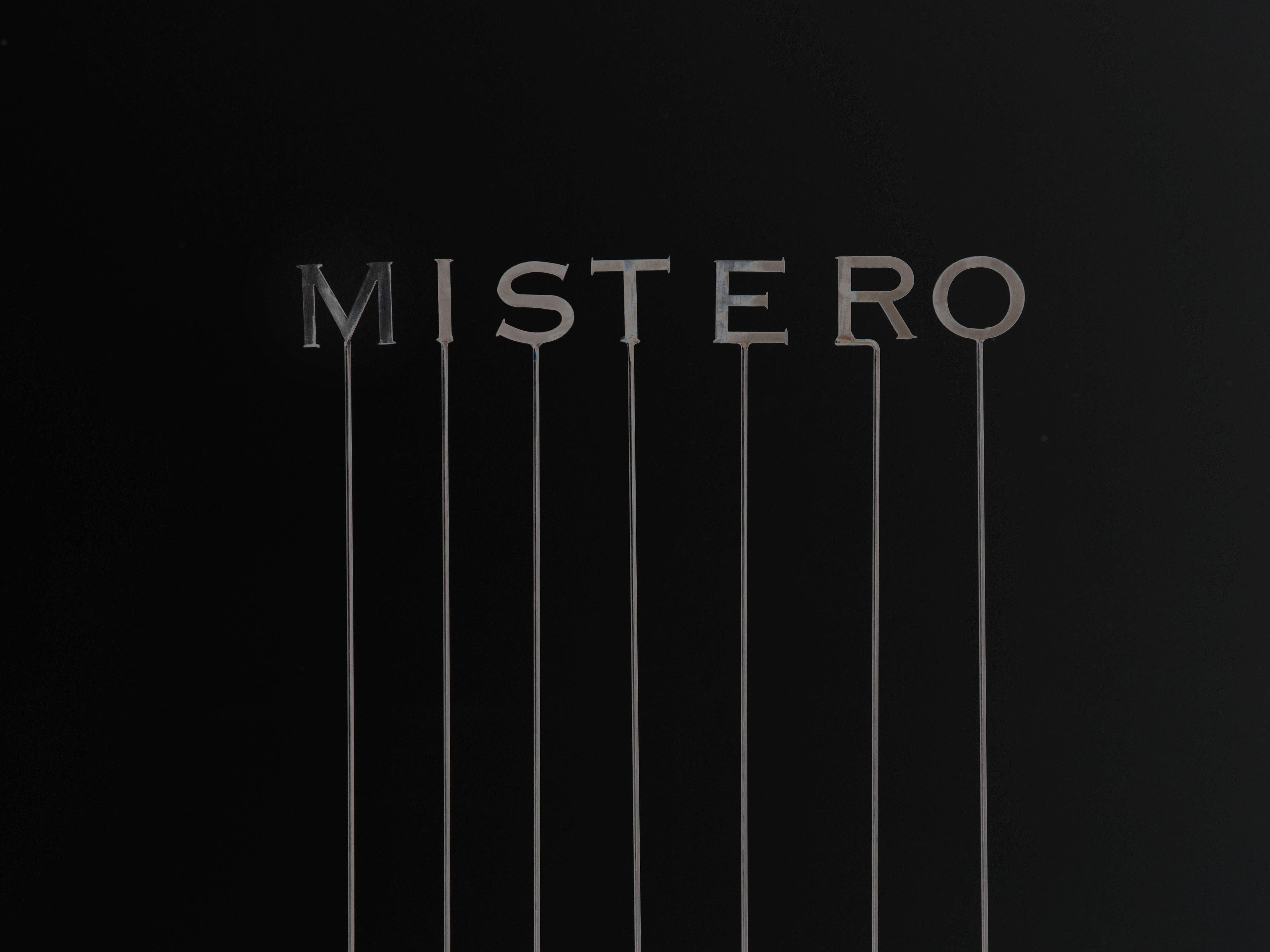 Mystero, stainless steel, laser cutting, 2013