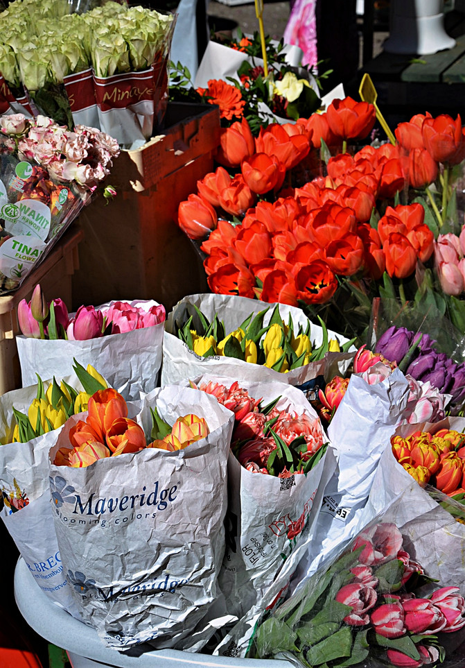 Flowers market in Zagreb