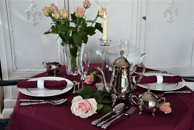 Table decor filled with memories