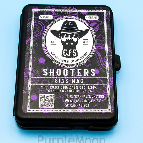 CJ's 5 pack Shooters