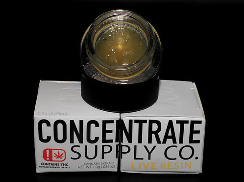 Concentrate Company Live Resin1g