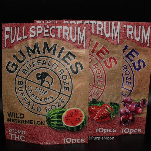 Buffalo Roze Full Spectrum 200mg Gummies