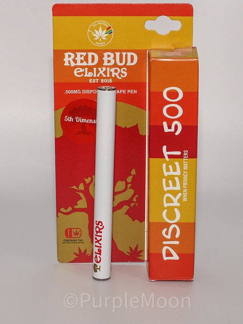 Red Bud Elixirs: Disposable .5g / OTD