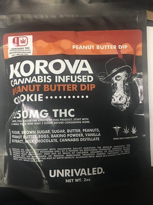 Korova 250mg Peanut butter brownie