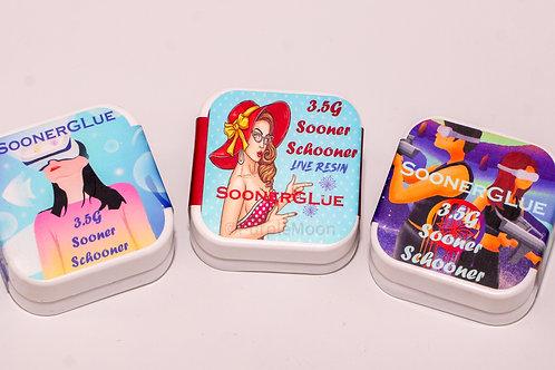 Sooner Glue Schooners / 3.5g Live Resin