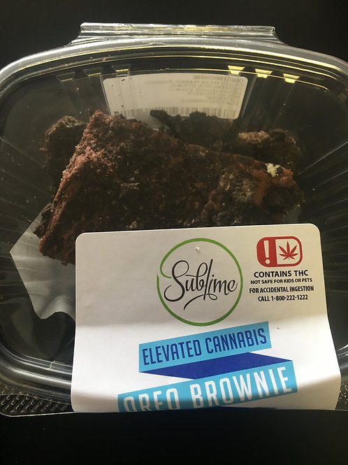 Oreo Brownie 75mg