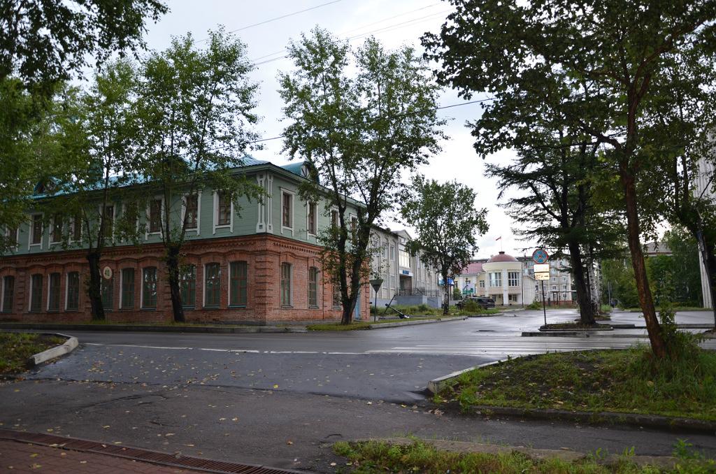 Центр историческое здание