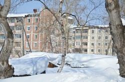 Зима в Николаевске