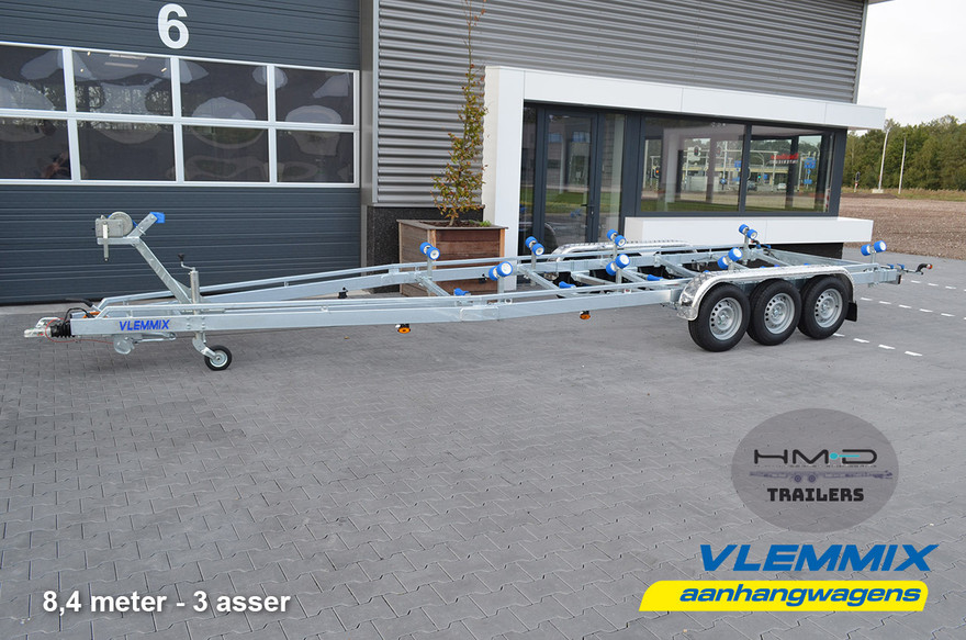 Boat Trailer_Vlemmix 8.4 metre 3 Axle-1_