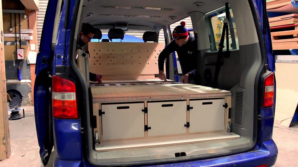VW Camper Van Conversion Kit Tour (3).mp