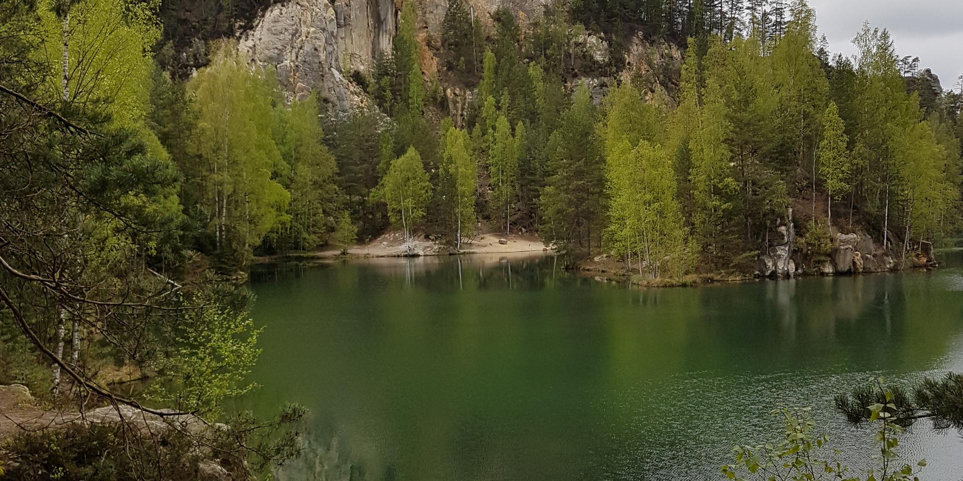 Lake of Adršpach