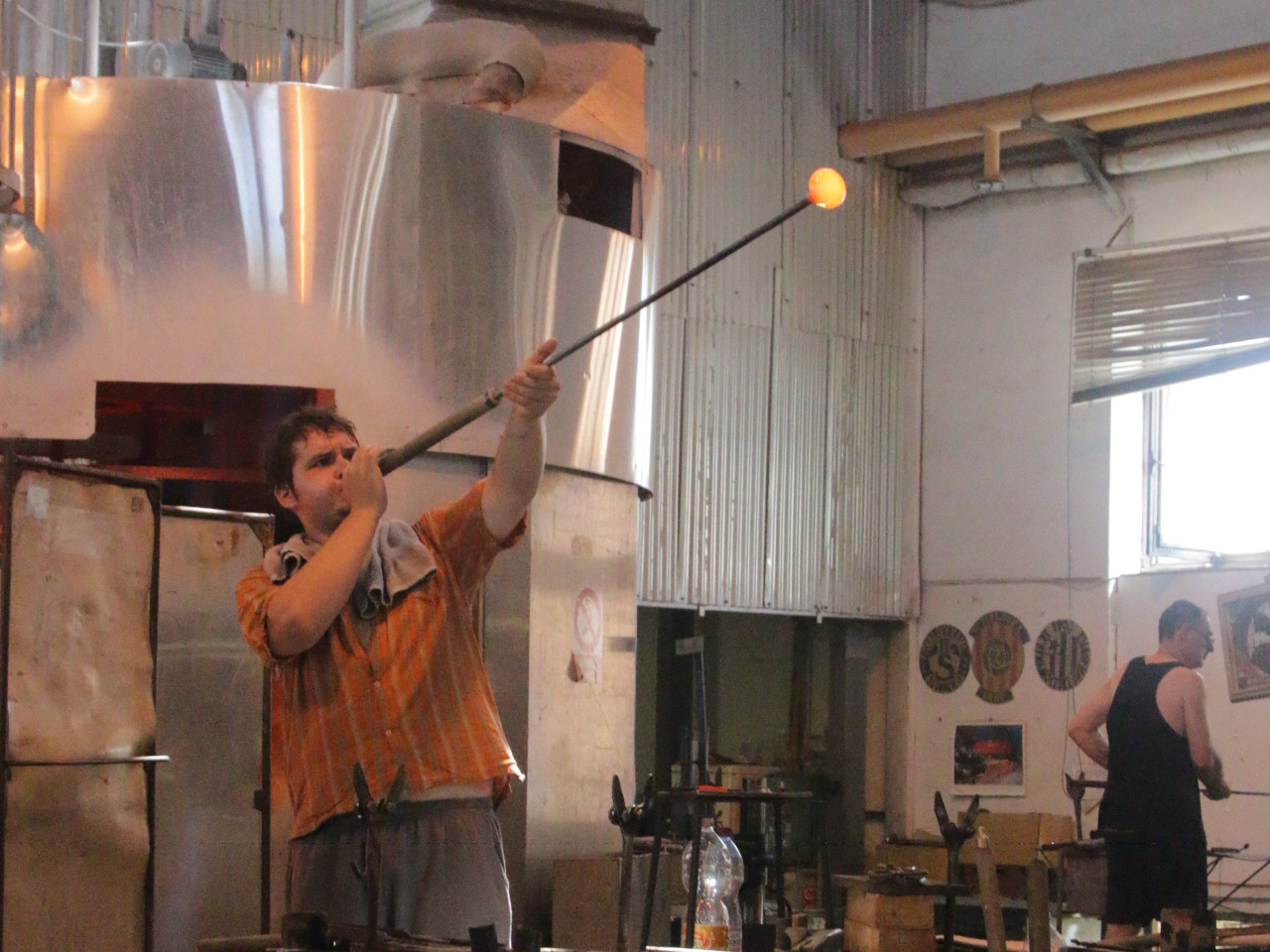 Blow glass
