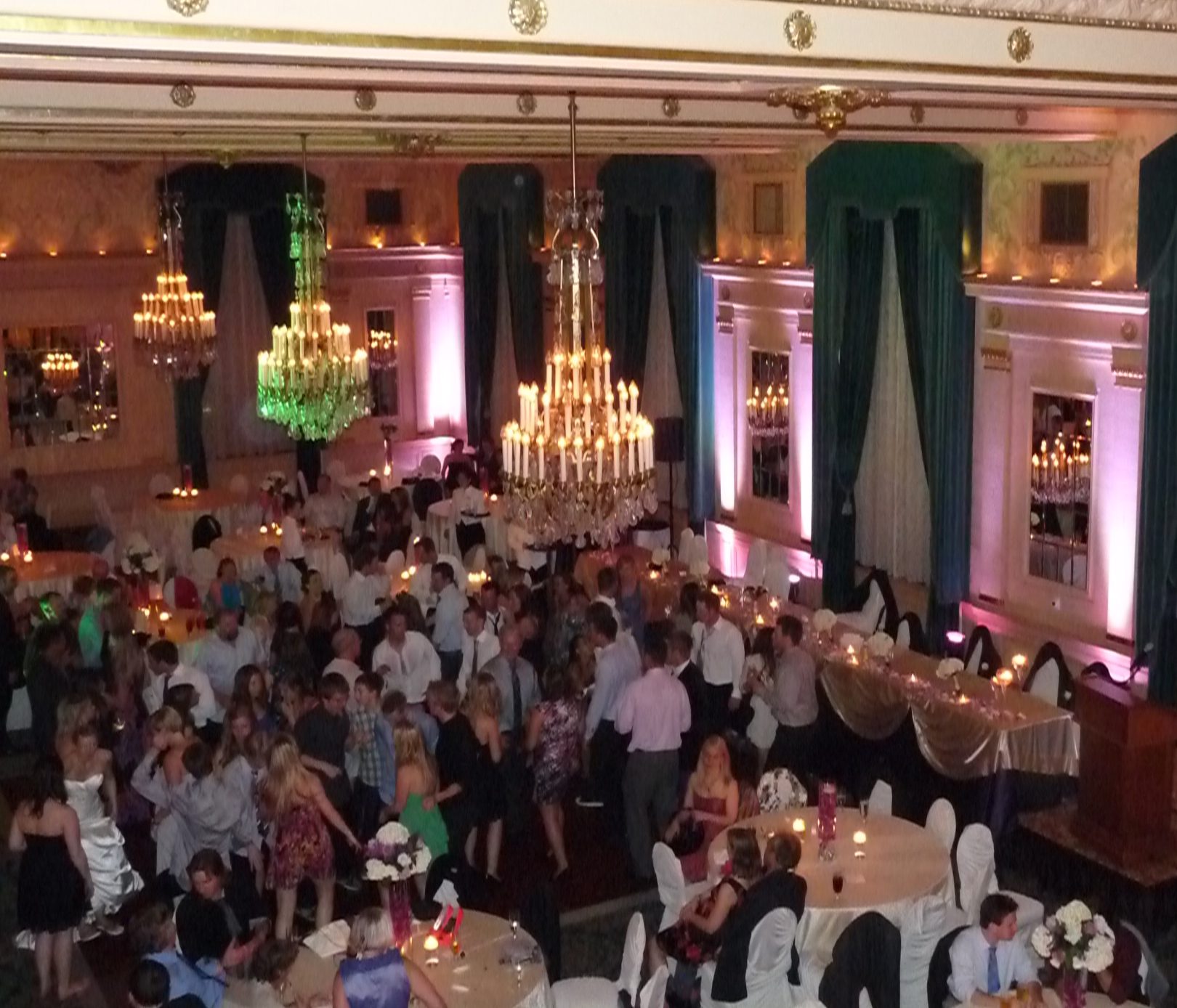 Wedding Reception, Crystal Ballroom