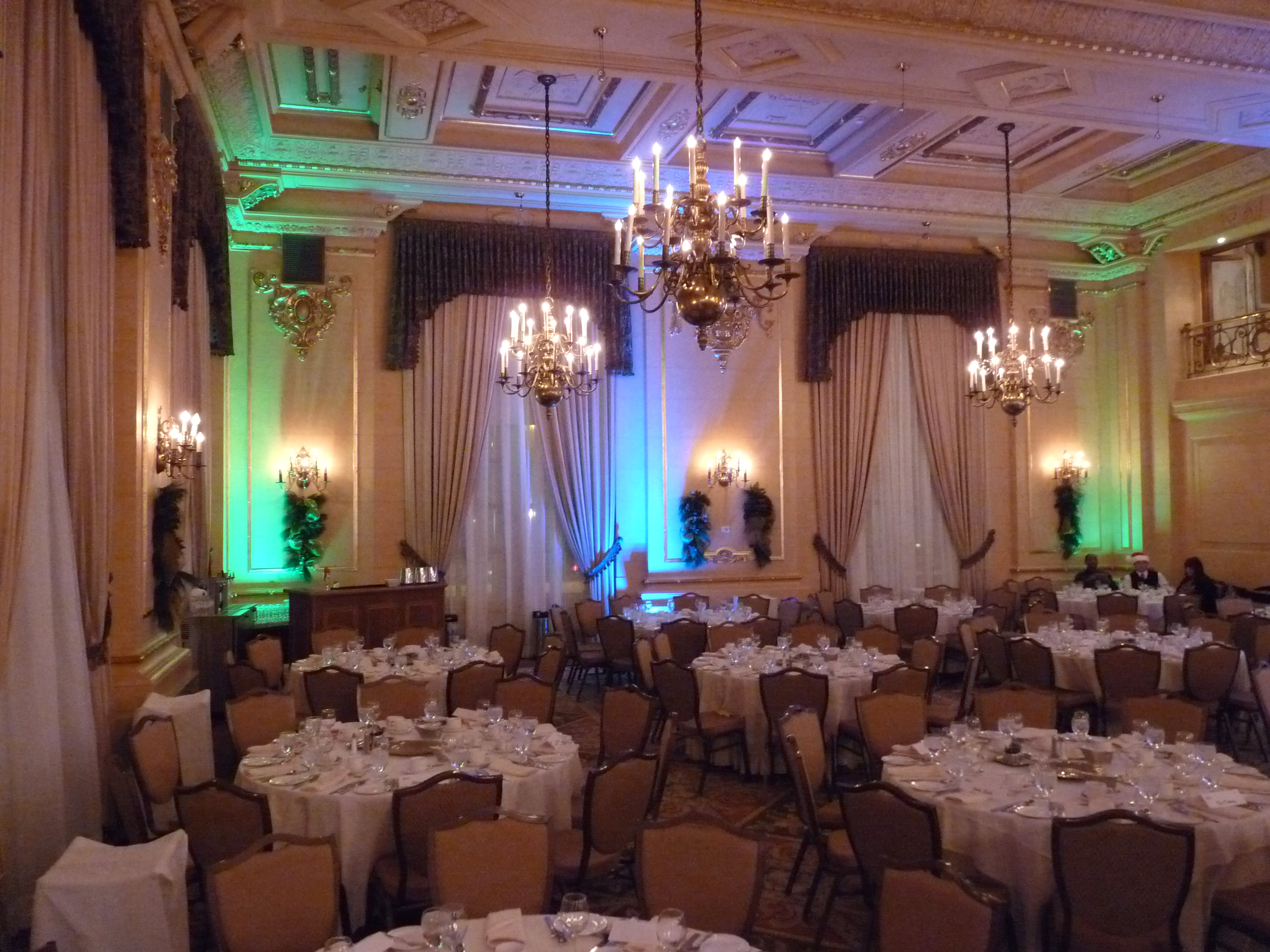 Corporate Event Uplighting rentals