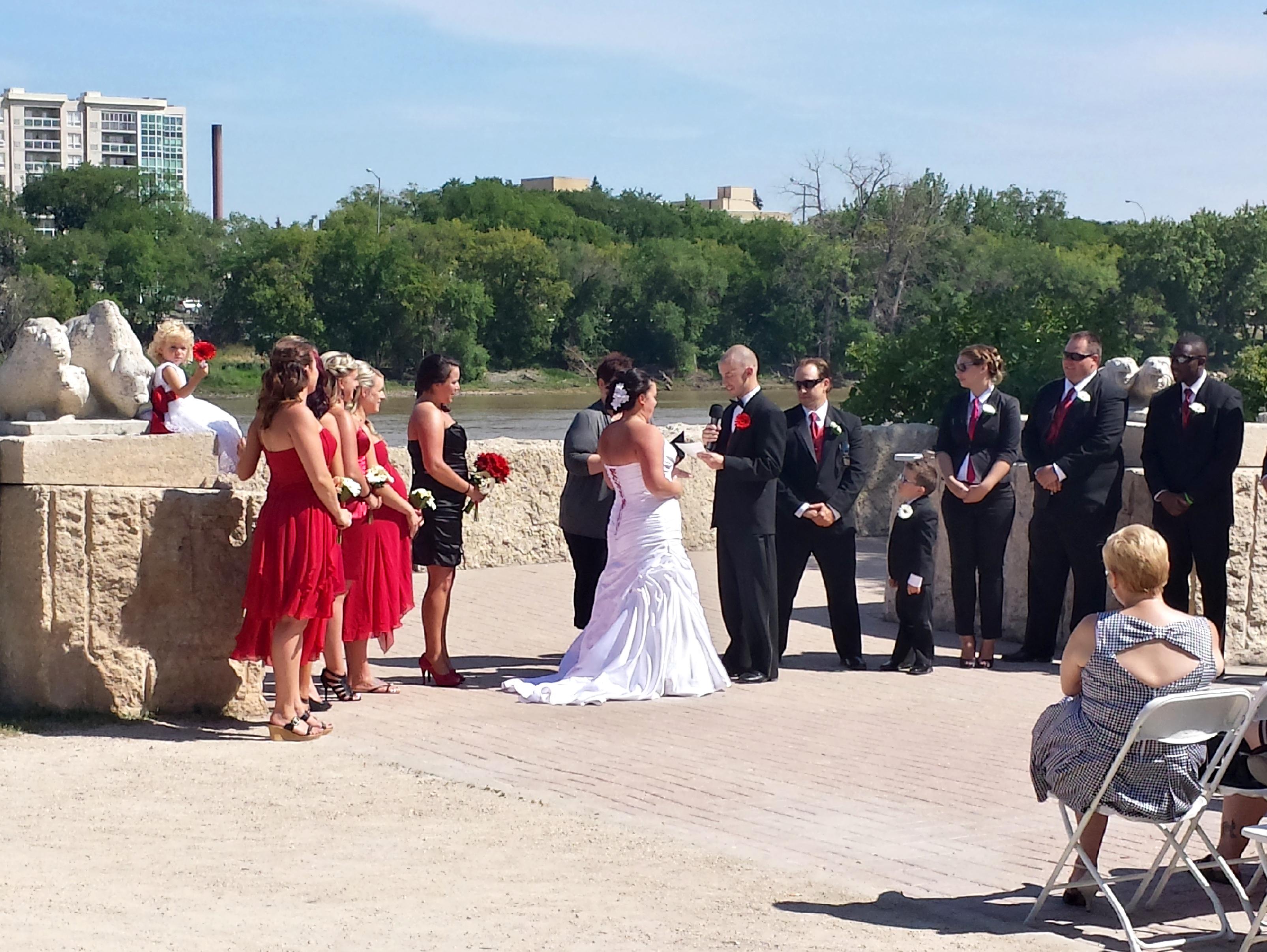 Ceremony, Forks Amphitheatre