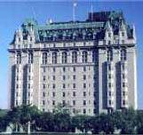 The Fort Garry Hotel in Winnipeg Manitoba