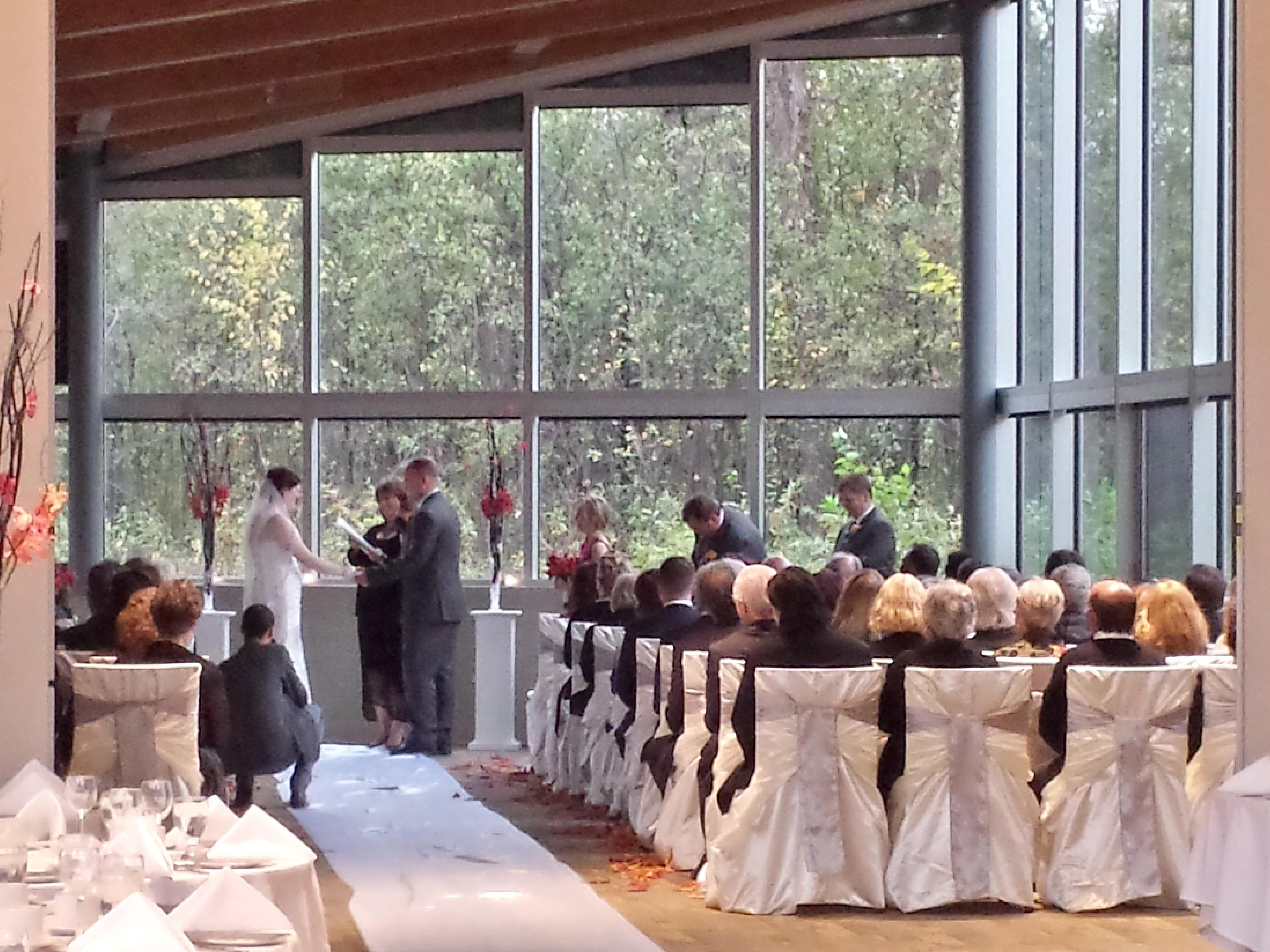 Audio for wedding ceremony