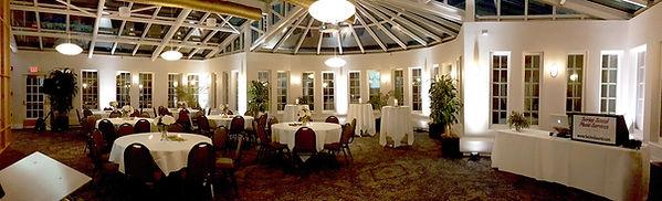 Assiniboine Park Pavilion with soft white uplights