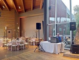 DJ Vito at a weddng reception