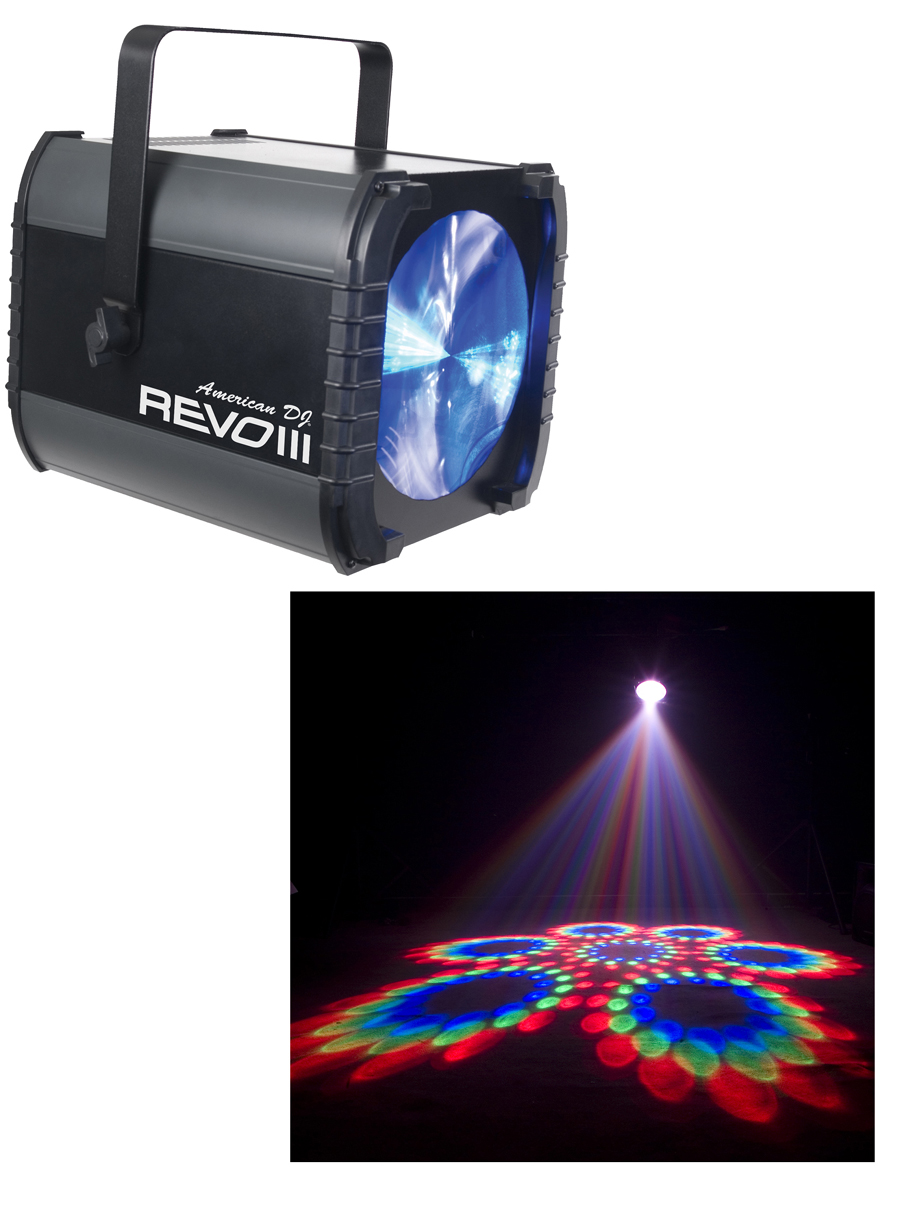 American DJ Revo III lighting effect