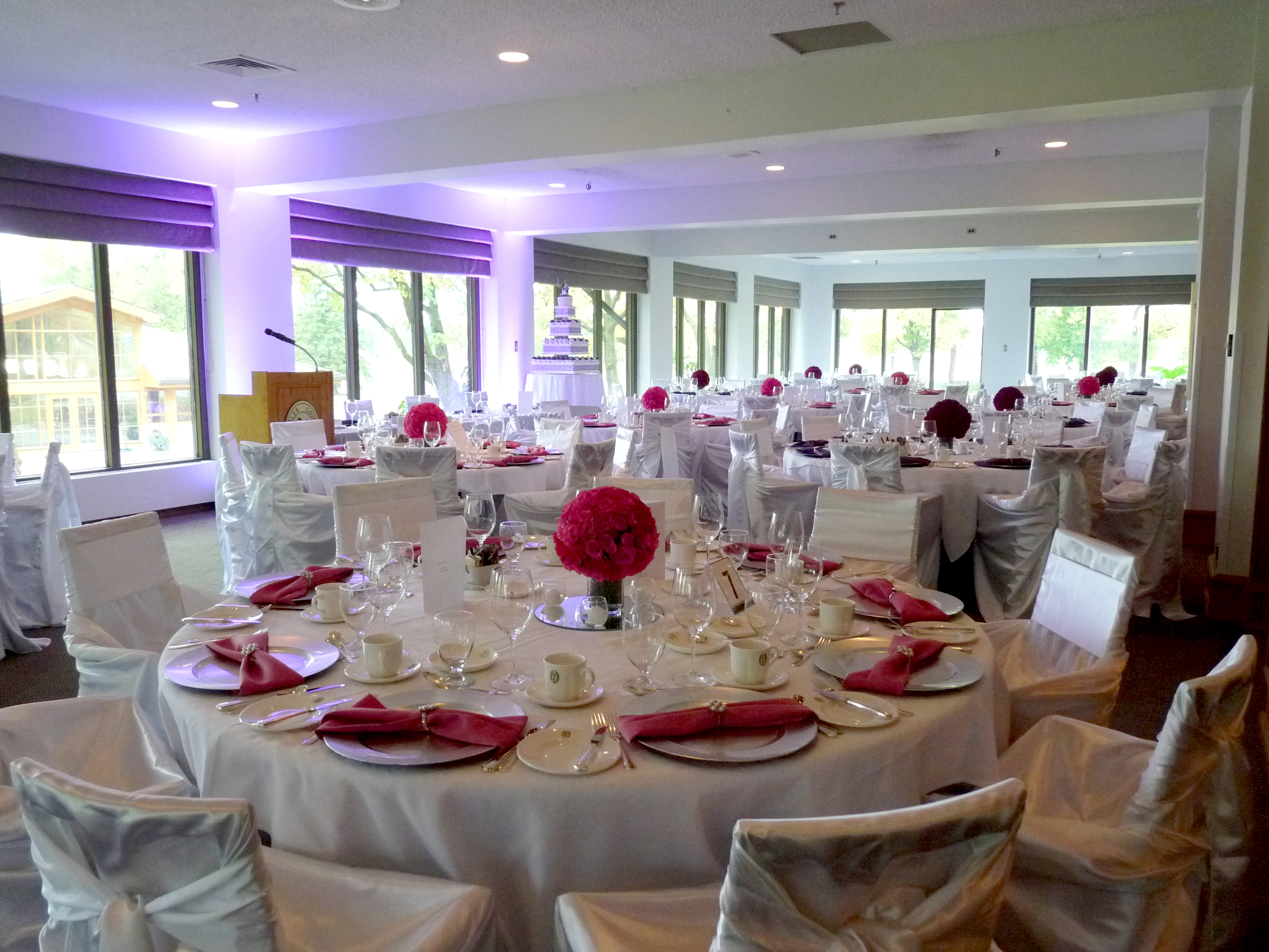 St Charles Country Club, head table