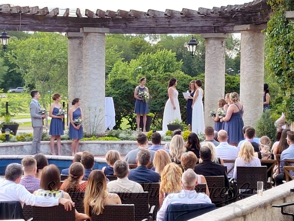 Wedding Ceremony - mics and music