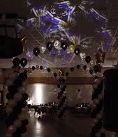 Martin Ego 3 lighting effect at a new year's party